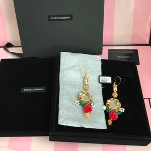 100% Authentic Dolce and Gabbana Earrings